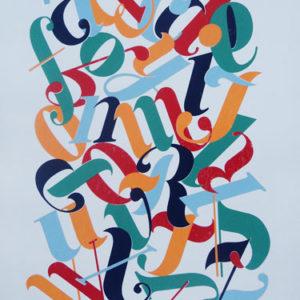 5 Coloured alphabet-0