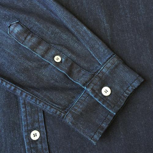 Abstract Denim Shirt-1469