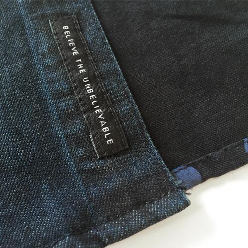 Abstract Denim Shirt-1471