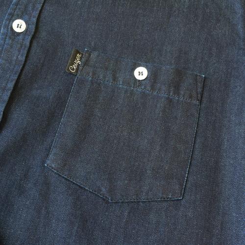 Abstract Denim Shirt-1476