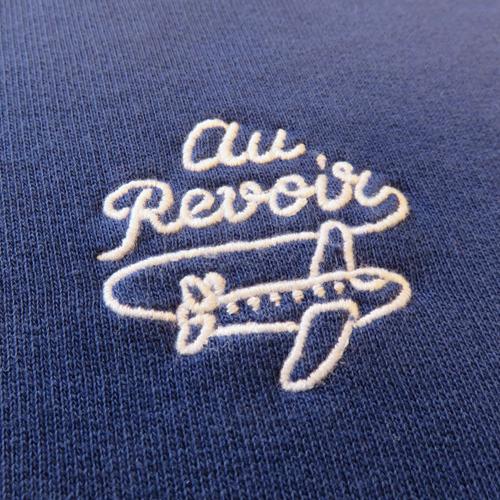 Au Revoir Crewneck-1393