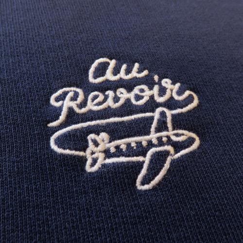 Au Revoir Crewneck-1537