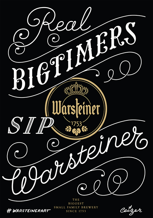 Ceizer x Warsteiner