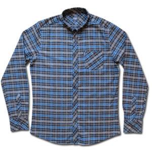 Blue Flannel Shirt-0