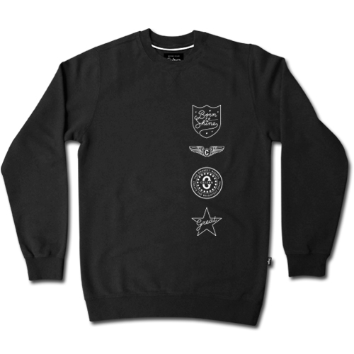Born To Shine Crewneck-0