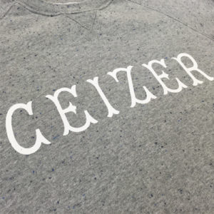 Speckled Ceizer Capital Crewneck