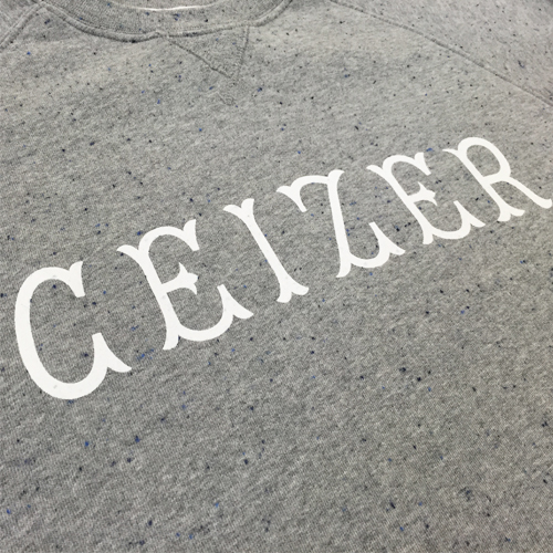 Speckled Ceizer Capital Crewneck-1088