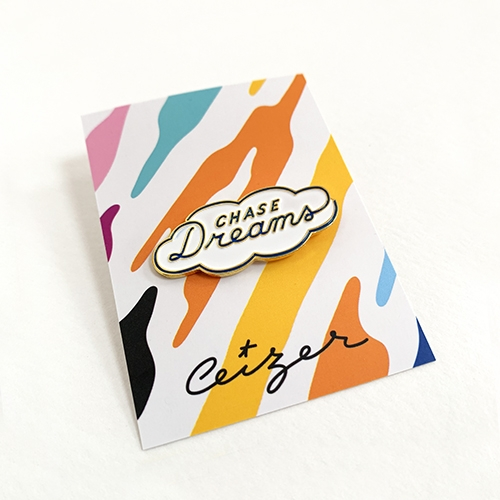 Chase Your Dreams pin-2118