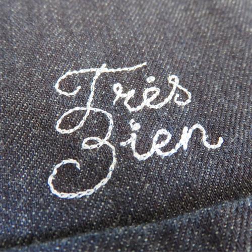 Très Bien Denim Shirt-968