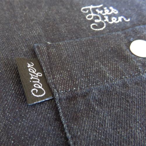 Très Bien Denim Shirt-965