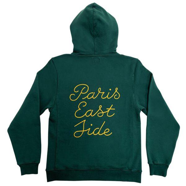 Paris Eastside green hoodie-2181