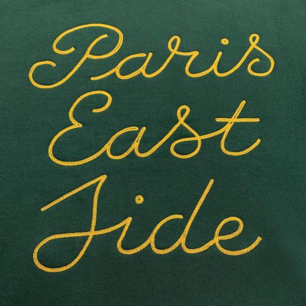 Paris Eastside green hoodie-2182
