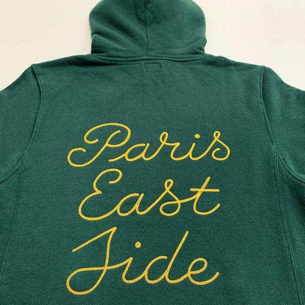 Paris Eastside green hoodie-2183