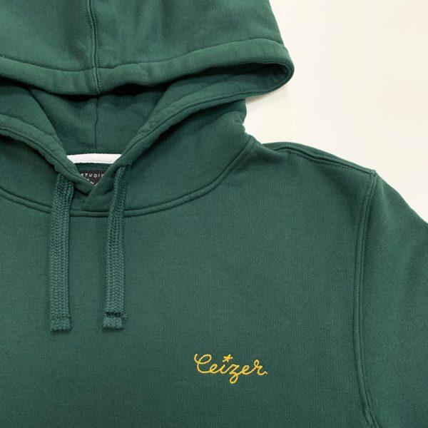 Paris Eastside green hoodie-2185
