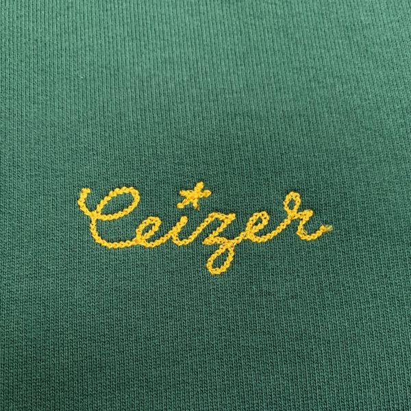 Paris Eastside green hoodie-2187