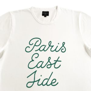 Paris Eastside Green Script Tshirt