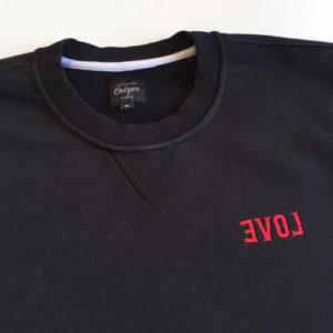 EVOL Embroidery Crewneck