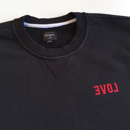 EVOL Embroidery Crewneck-1637