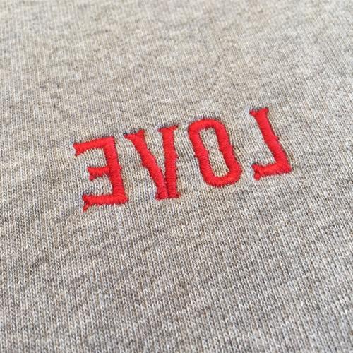 EVOL Embroidery Crewneck-1641