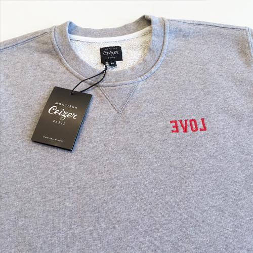 EVOL Embroidery Crewneck-1640