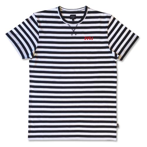 Striped EVOL T-shirt-0