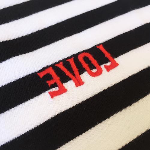 Striped EVOL T-shirt-1631