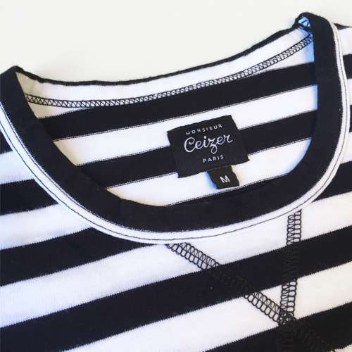 Striped EVOL T-shirt-1632