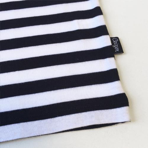 Striped EVOL T-shirt-1633