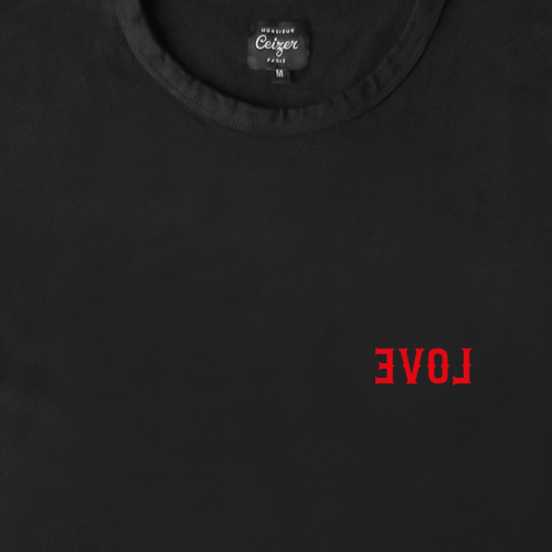EVOL Embroidery Tee-1123