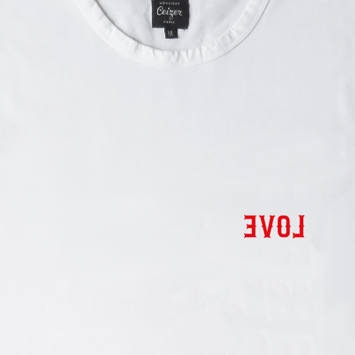 EVOL Embroidery Tee-1126