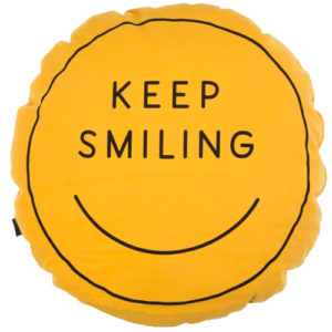 Keep Smiling Cushion