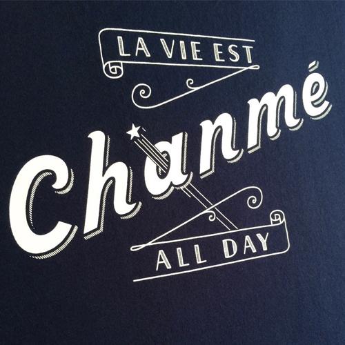 La Vie Est Chanmé Tee-1030