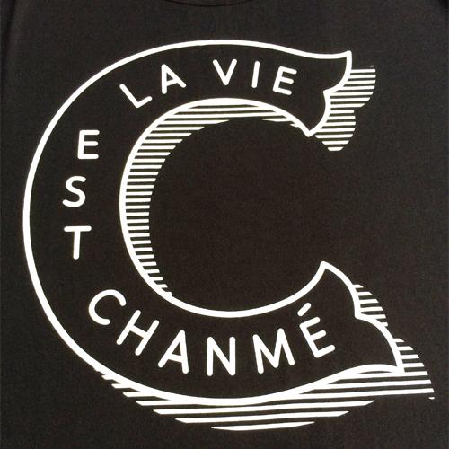 La Vie Est Chanmé Tee-887