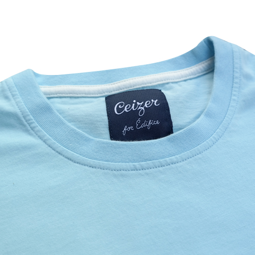 Light Blue Logo Tee-1062