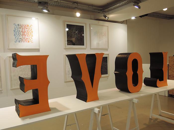 Ceizer 'Love Letters' Exhibition at L'Imprimerie Paris