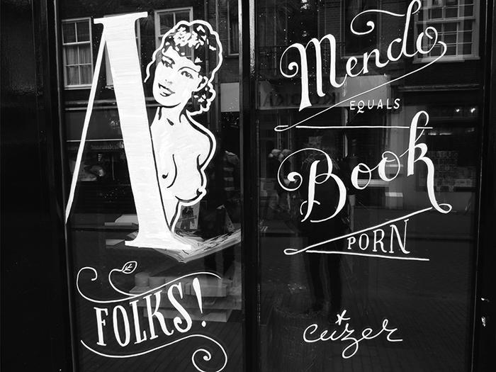 Ceizer x MENDO Bookstore