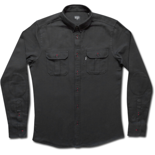 Black Military Shirt-0