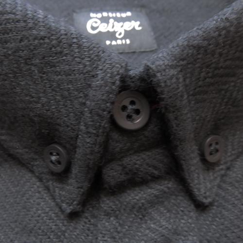 Black Military Shirt-875