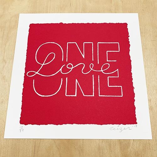One Love print-2138