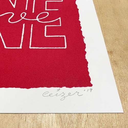 One Love print-2143