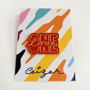 One Love pin-0