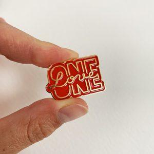 One Love pin