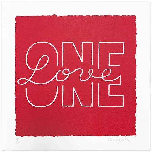 One Love print-0