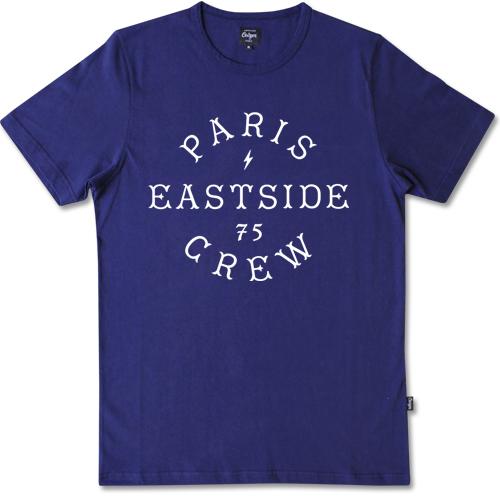 Paris Eastside Crew Capital t-shirt-0