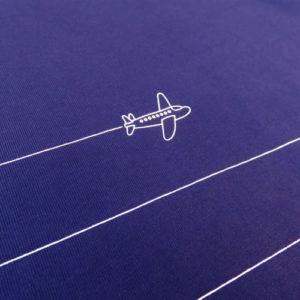 Plane Pinstripe T-shirt