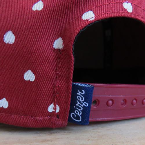 Polka Hearts Snapback-763