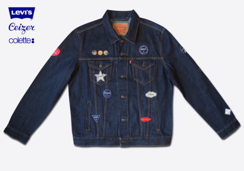 Ceizer x colette x Levi's - 'Mixed Emotions' Trucker Jacket