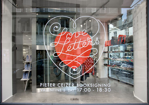 Ceizer x colette - Love Letters book release