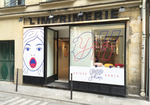 Ceizer Pop Shop / Oh Yes Exhibition in Paris